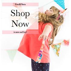 Jump for Joy! Fox&Flora is now available! Shop our new snappy tunic tunic!