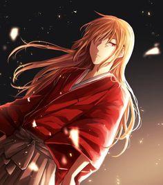 Sougo okita Somehow looks like kenshin without scars Hot Anime Boy, All Anime, Me Me Me Anime, Anime Love, Anime Guys, Anime Art, Kenshin Anime, Rurouni Kenshin, Anime Brown Hair