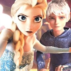 Elsa what are you doing?                    Protecting you Jack ❄️❄️ Jelsa forever