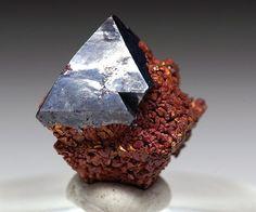 Copper pseudomorph after Cuprite - Russia