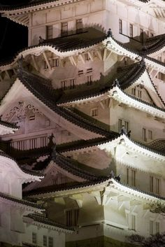 Himeji Castle, Japan.This is a truly wonderful photo. I remember looking up as we walked toward the Castle.