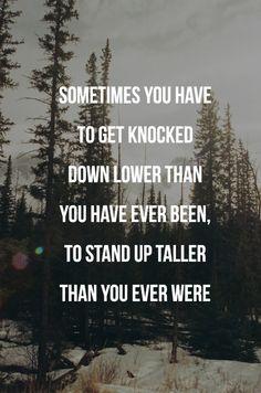 Never quit!