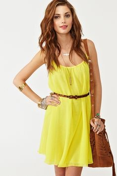 sunny side dress