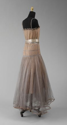 Robe de Style, Jeanne Lanvin (French, 1867–1946) for the House of Lanvin (French, founded 1889): 1931, French, silk, plastic.