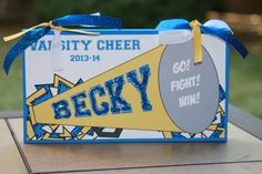 Team Spirit - Custom Wood Signs for your Cheerleader, Coach, Cheer Mom