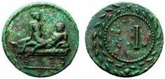 Arqueología e Historia del Sexo: SPINTRIAE: Las monedas romanas del sexo