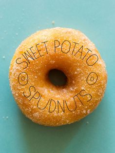 Our Sweet Potato Spudnuts / Potato Donuts are so light and fluffy. The sweet potatoes in this recipe make these the lightest doughnuts you have ever had! Potato Donuts Recipe, Sweet Potato Recipes, Spoon Fork Bacon, Potato Vegetable, Thing 1, Mashed Sweet Potatoes, Donut Recipes, Breakfast Time, Doughnuts