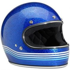 Biltwell Gringo --» add a bubble shield and it becomes a moon man helmet. I want this in like three different colors.