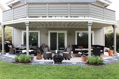 #DIY pillows and the patio revisited - more neutral this time