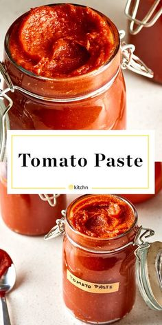 How To Make Easy Tomato Paste - Homemade Tomato Paste. Great for canning if you need ideas for preserving tomatoes, but you can also freeze it. Chutneys, Homemade Tomato Paste, Tomato Paste Recipe, Tomato Sauce, Green Tomato Chutney Recipe, Tomato Tomato, Tomato Risotto, Tomato Garden, Salsa Italiana