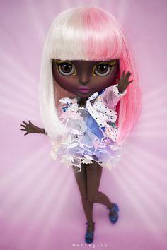 HAHA! This one looks like Nicki Minaj :D