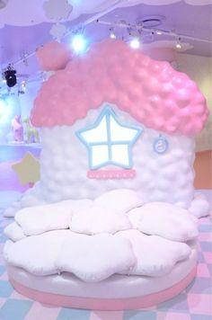 Kawaii Room Decor 54 - home decor - Babyzimmer Girl Bedroom Designs, Girls Bedroom, Bedroom Decor, Bedrooms, Kawaii Bedroom, Otaku Room, Pastel Room, Cute Room Ideas, Little Twin Stars