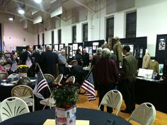 Veterans Day Evening Event @ the Bel Air Armory in Bel Air, Md  11-10-11