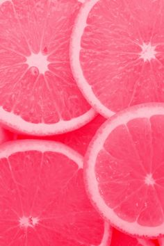 pink grapefruit screams summer