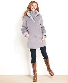 Nautica Raincoat, Classic Hooded for Sale