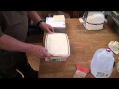 REPAIRING A KILN & USING KILN WASH - YouTube