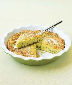 The best no-crust Zucchini Pie! It's Zucchini season - making this tonight! Zucchini Side Dishes, Zucchini Pie, Vegetable Dishes, Vegetable Recipes, Vegetarian Recipes, Recipe Zucchini, Side Dish Recipes, Pie Recipes, Cooking Recipes