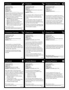 Slobbery image pertaining to dnd 5e printable spell cards