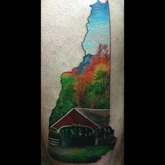 Follow the link for la ink designs estilo pinterest for New hampshire tattoo