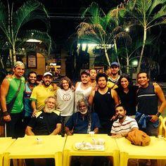 """B2B-- 06/25/14 Encuentro de amigos Bahianos en Manaus , Mestre Cobra Mansa e Mestre Acordeón , Mestra Suelly y B2B crew.""""...Vou navegando pelo mundo eu vou... a capoeira foi quem me levou."""""""