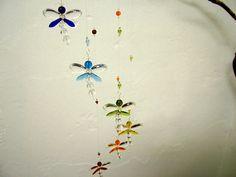 Nursery Idea Crystal Baby Mobile Baby Shower Baby Boy Mobile Dragonfly Swarovski Crystal Suncatcher Easter Gift Rainbow Hanging Room Decor