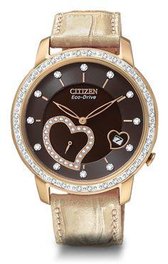 Mesa Jewelers - NEW DESIRE Citizen Eco-Drive Women's Watch, $393.00 (http://www.mesajewelers.com/new-desire-citizen-eco-drive-womens-watch/)