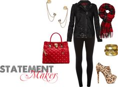 """""""Statement Maker"""" by westernglamour on Polyvore"""