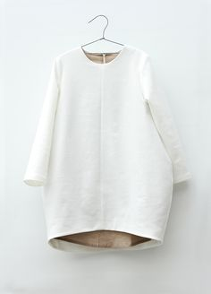 Balloon Dress White | MOTORETA