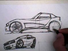 how to draw a car - lesson 1 - the side-view