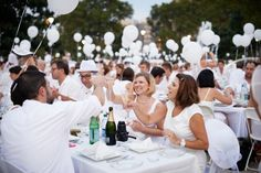 """Dîner en Blanc and My Fear of the White""   by Linda Arceo • July 17, 2013"