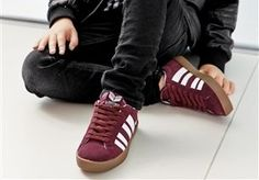 Berry Lace Trainers (Older Boys) from Next
