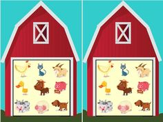 cache cache a la ferme Grande Section, Farm Theme, Kindergarten Classroom, Farm Animals, Advent Calendar, Activities, Holiday Decor, Centre, Cycle 1