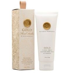 Niven Morgan Gold Hand Cream - N3 Fortified Hand Cream is specifically designed to promote moisture and firmness for younger, healthier looking skin. Natural extracts are blended with Organic Aloe Vera and Shea Butter to help reduce the appearance of dark skin spots while offering a luxurious, non-greasy feel. Soften your touch with N3 Fortified!    Paraben free    4 oz. tube    Interior Design, Home Decor and Furnishings in Grove, Oklahoma.