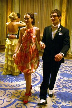 """Leighton Meester as Blair Waldorf and Ed Westwick as Chuck Bass """"Much 'I Do' About Nothing"""""""