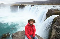Picture of Uruma Takezawa in Iceland during his three-year photographic journey