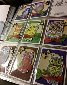 First owl cards for trade.