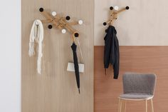 Pauli Coat Hanger by Nachacht Studio for Sancal.