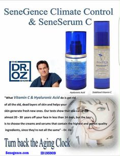 As seen on Dr.Oz our products have the same two main ingredients.