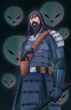 KK : Photo Samurai Jack