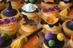 Halloween Cupcakes para bodas temáticas
