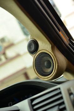 TWEETER AND MIDRANGE SPEAKER FROM FOCAL PS165F3 Custom A Pillars Fiberworks With Custom Stitch SemiLeather By Cartens® Autosound And Installation | Indonesia Trusted Car Audio™ #CartensAudio