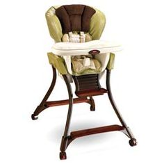 The Fisher Price Zen Collection High Chair Is One Of Four Baby Gear  Products Which Complete The New High End Exclusive Zen Collection For Baby.