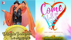 """Popular Bollywood movie """"Dilwale Dulhaniya Le Jayege"""" is ready to hit Broadway with its musical version named """"Come Fall in Love."""""""