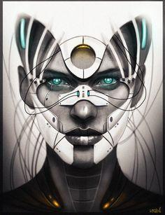 fuck yeah cyberpunk — Biotic by RainKacper