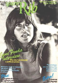 Interview with Jane Fonda. Spare Rib Ltd. Womens Liberation, Spare Ribs, Jane Fonda, Iconic Women, Art Therapy, How To Become, Politics, Good Things, Magazine