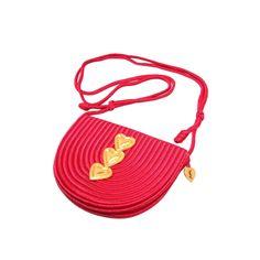 Yves Saint Laurent Love Handbag   From a collection of rare vintage handbags and purses at https://www.1stdibs.com/fashion/accessories/handbags-purses/