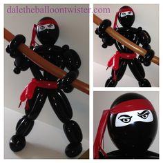 Balloon Ninja inspired by Ken Stillman.