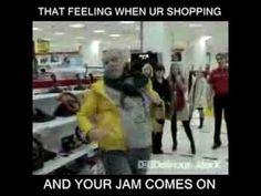 That feeling when ur shopping