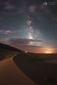 Milky Way Nightscape from Great Sand Dunes National Park by Mike Berenson on 500px