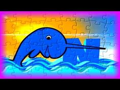 "Kids Learn the Alphabet with Puzzles - ""N"" is for Narwhal - Kids Learn & Play Toy Puzzle Games - YouTube"